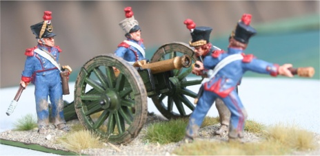 French 6pdr. gun