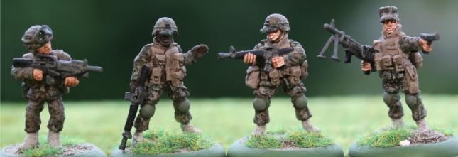 USMC squad (DDD, 3x BS)