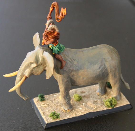 Beastmaster on Elephant