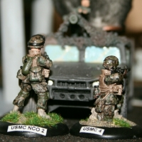Woodlands MARPAT and ACU painting guide