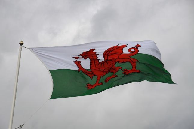 Cymru (Welsh) flag