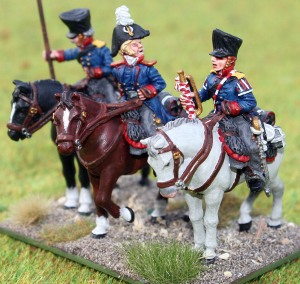 Brandenburg Uhlanen command