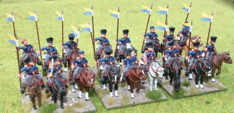 Brandenburg Uhlanen group shot 2