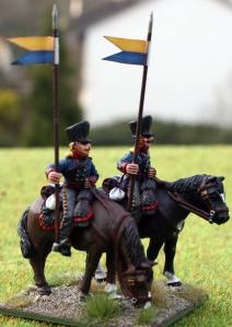 Brandenburg Uhlanen troopers 1
