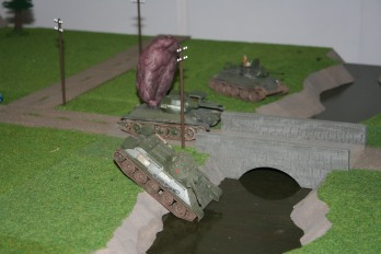 T34-76 fording river