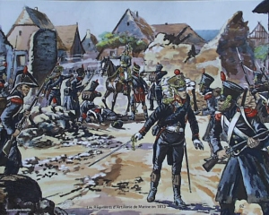French Marines at Möckern 1813