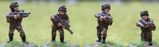 Modern French Squad # 6 (D&P)