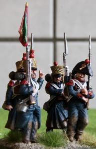 4e - 1 régiment d'infanterie de marine 1st stand