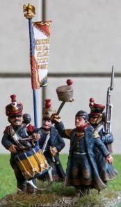 4e - 1 régiment d'infanterie de marine command stand