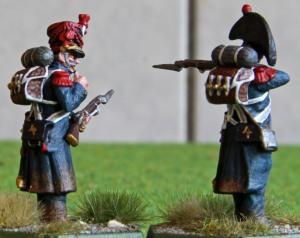 4e régiment d'infanterie de marine skirmishers back