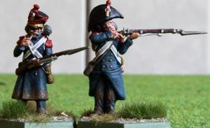 4e régiment d'infanterie de marine skirmishers front