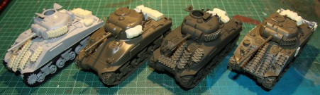 British Tank Troop #1 (WIP)