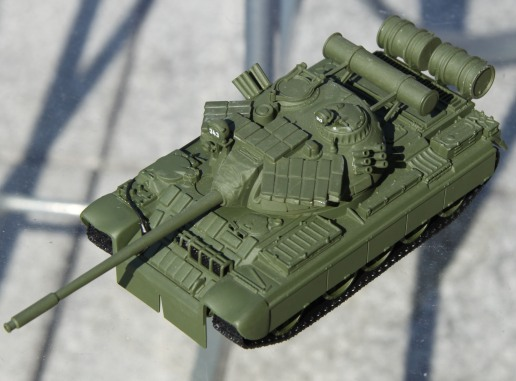 James Bonds T-55 as a 1:50th scale die-cast model