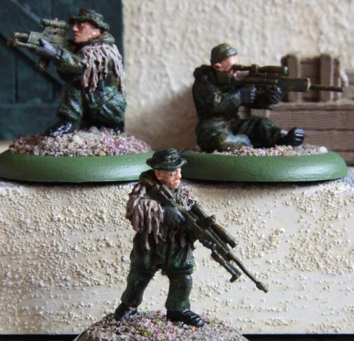 KSK sniper team