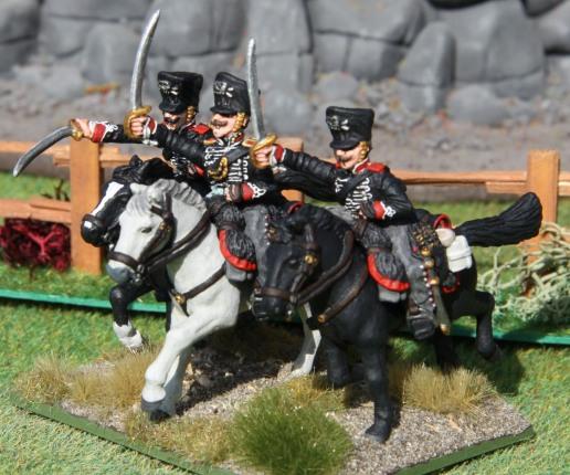 2te Preussische Leibhusaren (command stand)