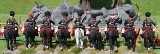 2te Preussische Leibhusaren (rear view)