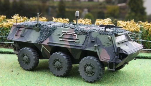 Bundeswehr ABC Spürpanzer Fuchs