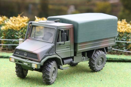 Bundeswehr Unimog