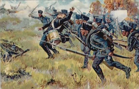Prussian Infantry at Möckern