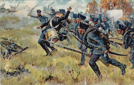 Prussian Infantry at Möckern