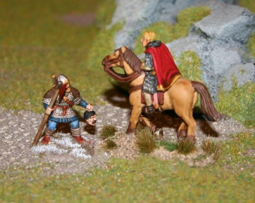Berserker vs Norman Warlord