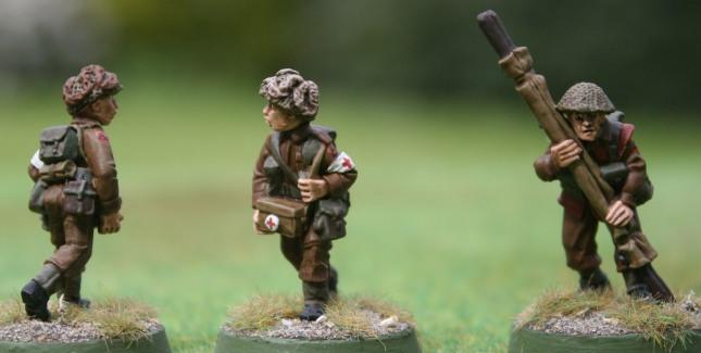 British WWII Medics