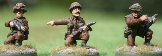 British WWII NCOs