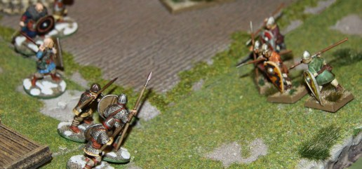 Final charge of the Sergeants