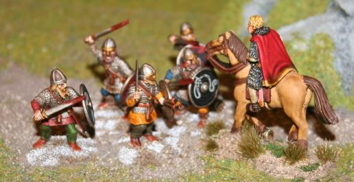 Hirdmen vs Norman Warlord