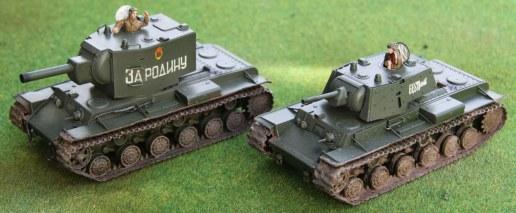 KV-1 and KV-2