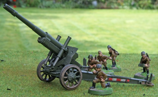 M1931 122mm Field Gun