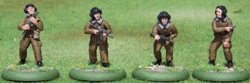 Russian Dismounted Tankers (Red Star Miniatures)
