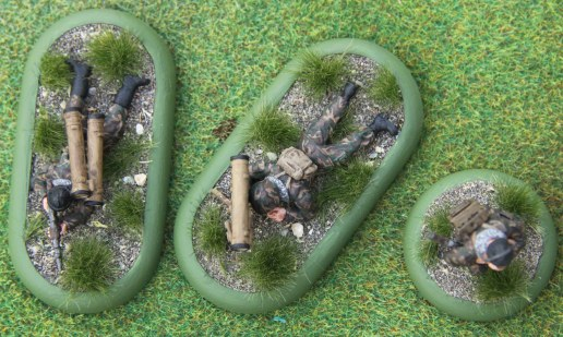 Russian Kornet team top view (Red Star Miniatures)