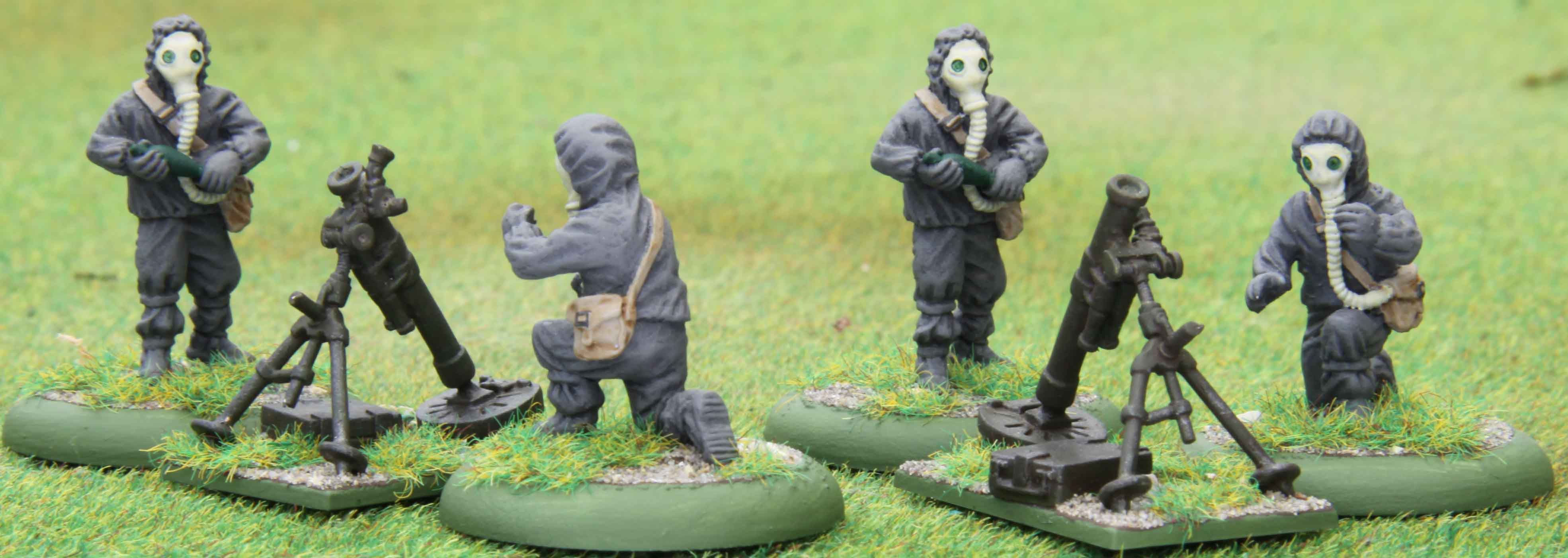 Russian NBC Mortars (Eureka Miniatures)
