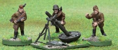 Soviet 120mm Mortar
