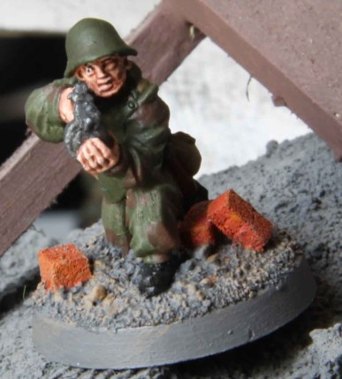 Soviet Assault Engineer (firing SMG)