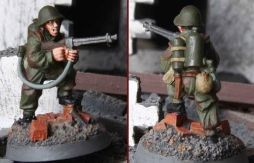 Soviet Assault Engineer (Flamethrower)
