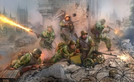 Soviet Assault Engineers (Picture © Zvezda)