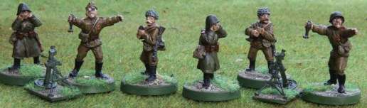Soviet Mortars