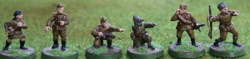 Soviet NCOs and Medic