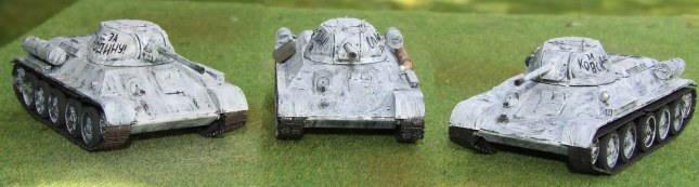 T-34/76 winter whitewash