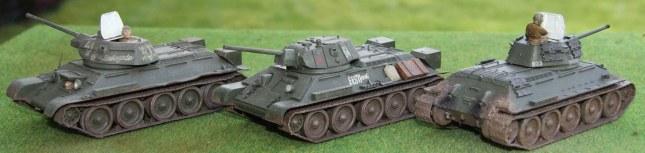 T-34/76s