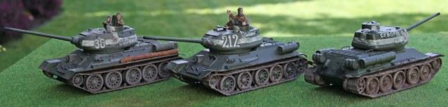 T-34/85s