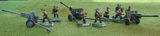ZIS-2 Field Guns