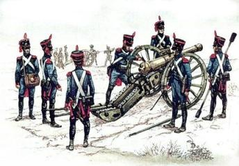 Gribeauval system period French Artillery
