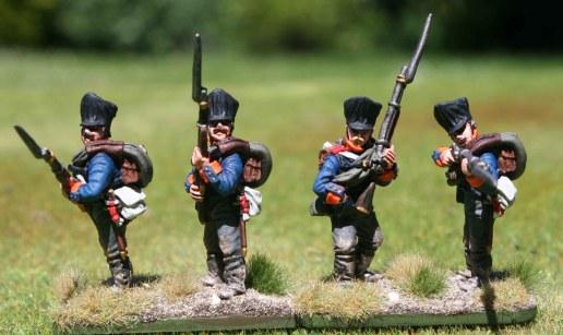 2te Ostpreußische Fuisiliere, 1st stand