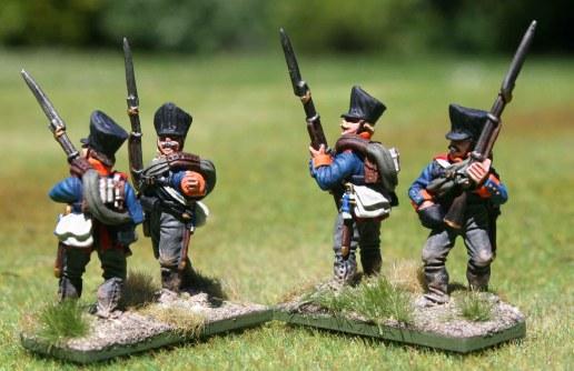 2te Ostpreußische Fuisiliere, 2nd stand