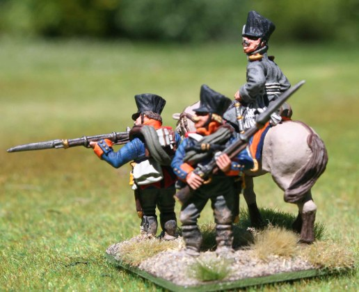 2te Ostpreußische Fuisiliere, Command stand