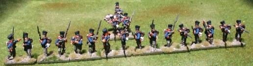 2te Ostpreußische Fuisiliere, skirmish line