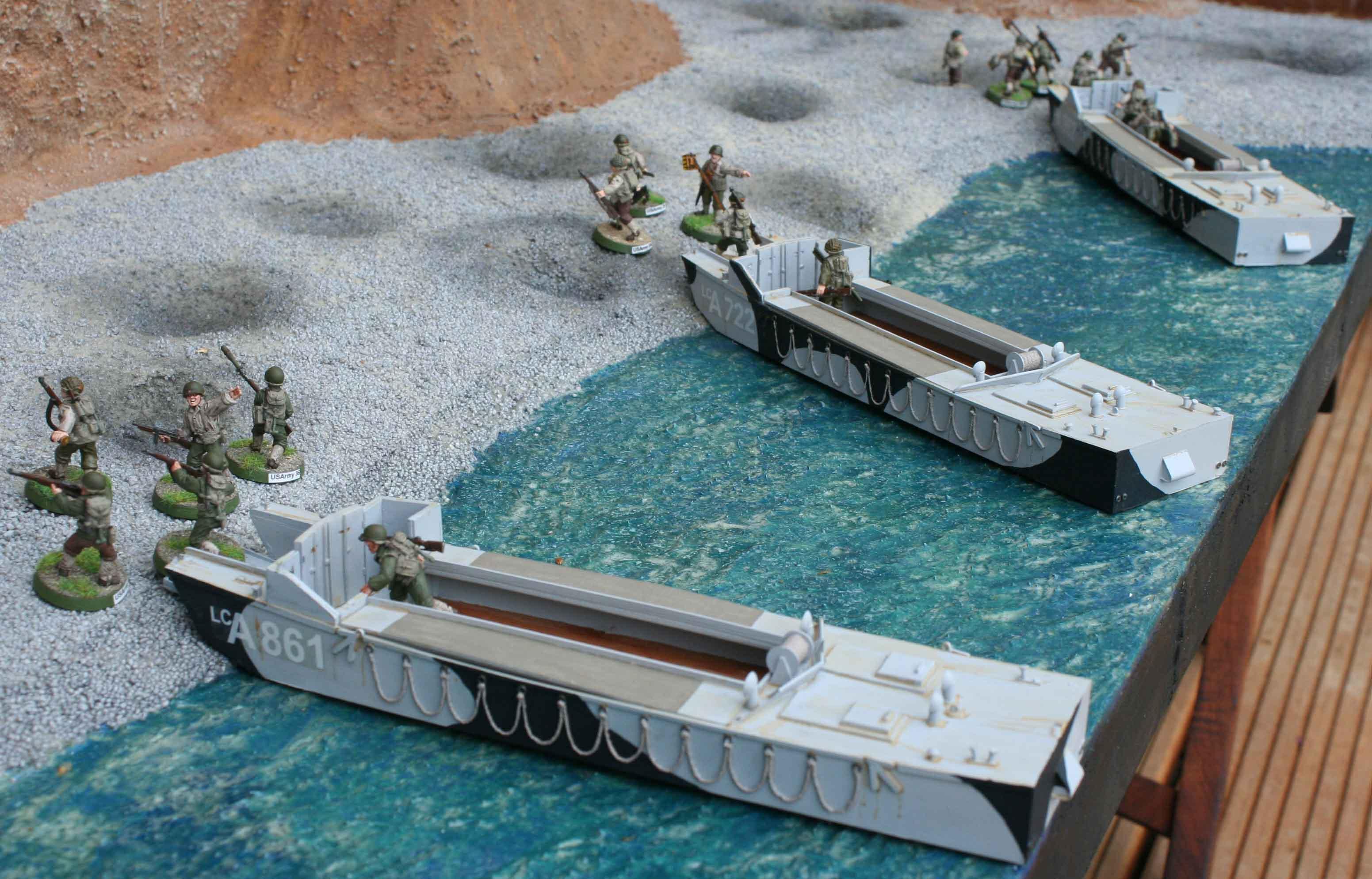 British WWII landing craft | dhcwargamesblog